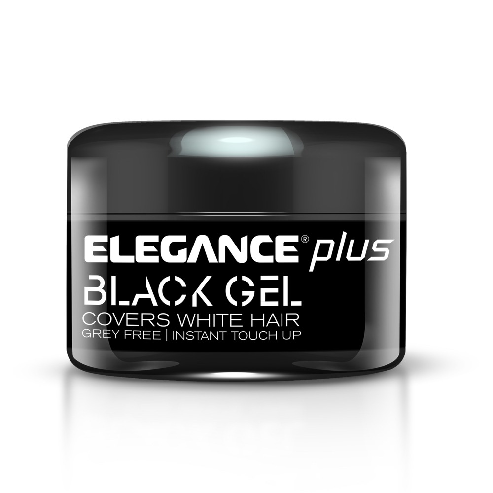 Elegance Plus Black Hair Styling Gel hajwax fekete hajhoz